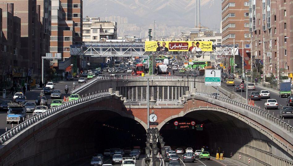 Irans Hauptstadt Teheran im Februar 2012: So klar kann die Luft sein