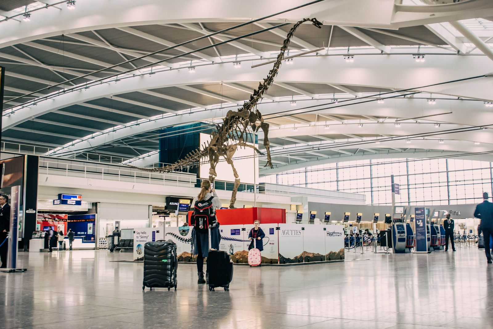 EINMALIGE VERWENDUNG Dinosaurier/ Skinny/ Heathrow