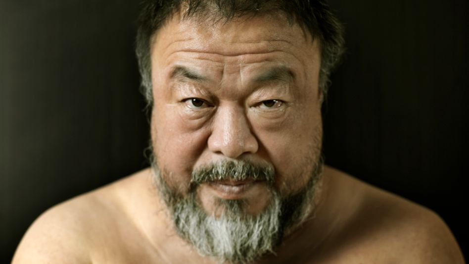 """Ai Weiwei at the Bayerische Hof hotel in Munich in early August: """"It seems surreal to me. Sometimes I feel like I could cry."""""""