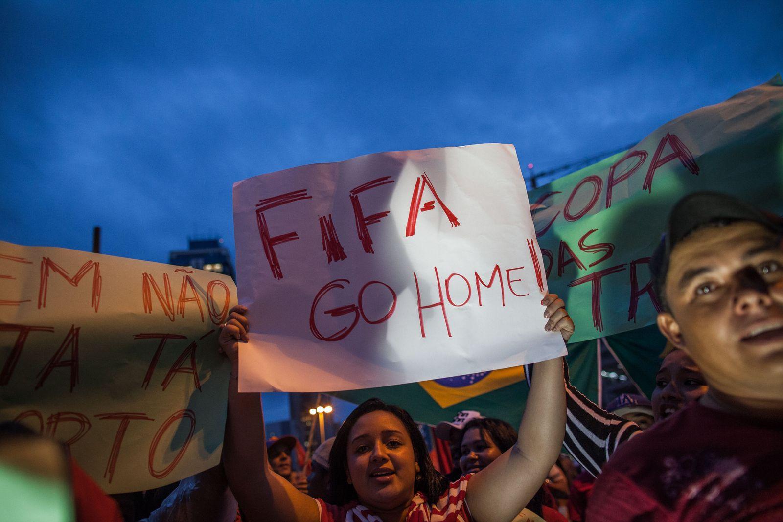 Sao Paulo/Anti-WM-Protest