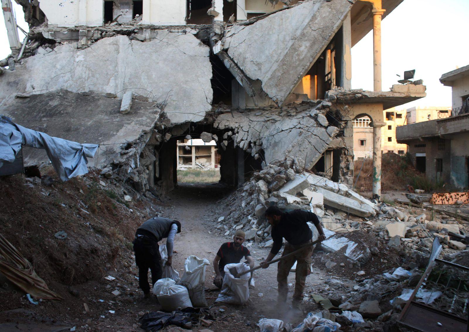 SYRIEN Konflikt Daraa