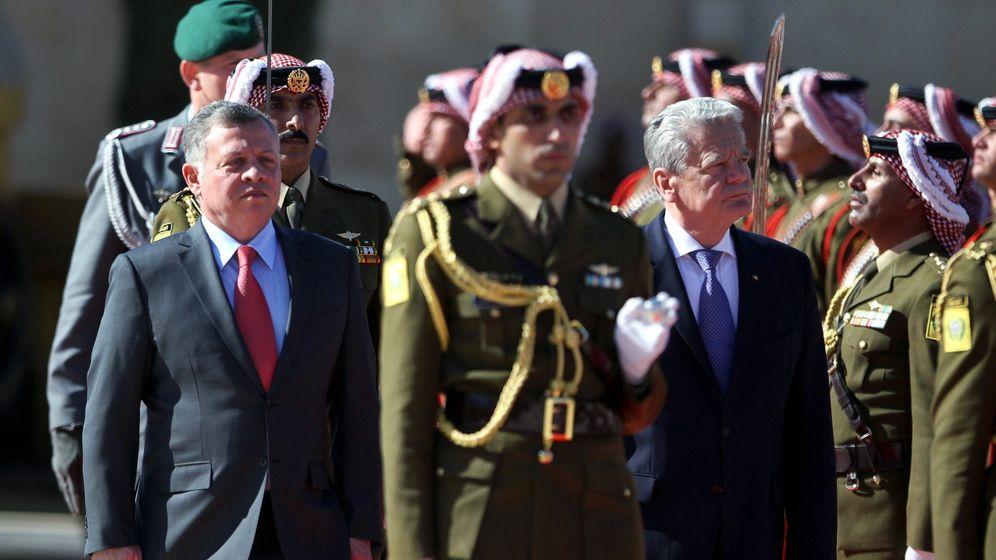Nahost-Reise: Gauck in Jordanien