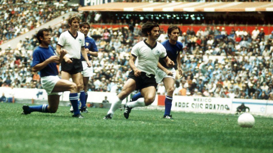 Auch wenn die Partie am Ende verloren ging - es war auch das Spiel des Gerd Müller.
