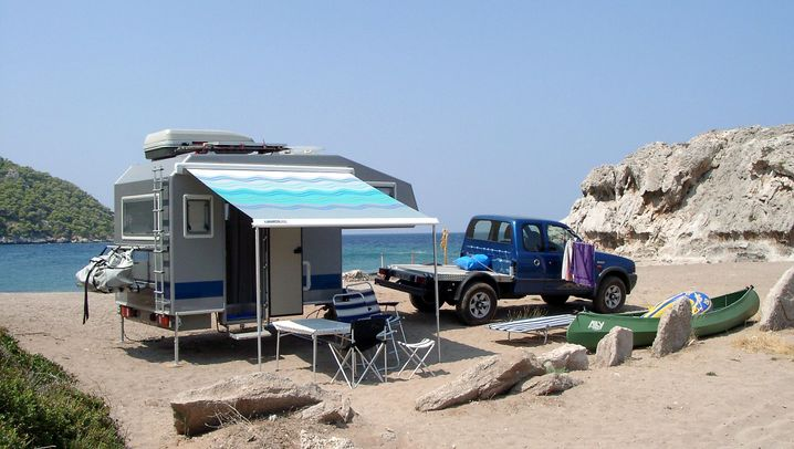 Wohnkabinen für Pick-ups: Die Huckepack-Häuser
