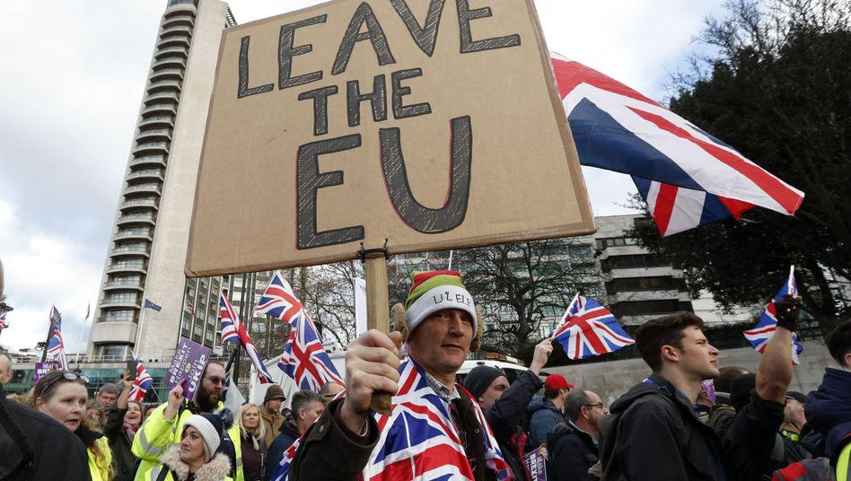Brexit-Demo: Wundersame Welle politischen Wahnsinns