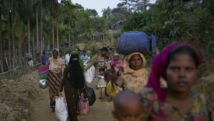 Flüchtlingslager in Bangladesch: Das Leid der Rohingya