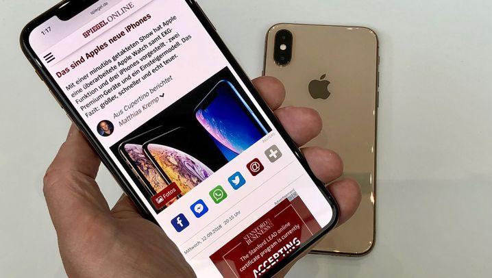 iPhone Xs Max und Apple Watch 4: Der erste Eindruck von den neuen Apple-Gadgets