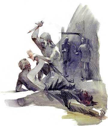 Mord aus dem Hinterhalt: Mit 18 Jahren jagten die Spartaner nachts Heloten und brachten sie um - als Teil ihrer Ausbildung