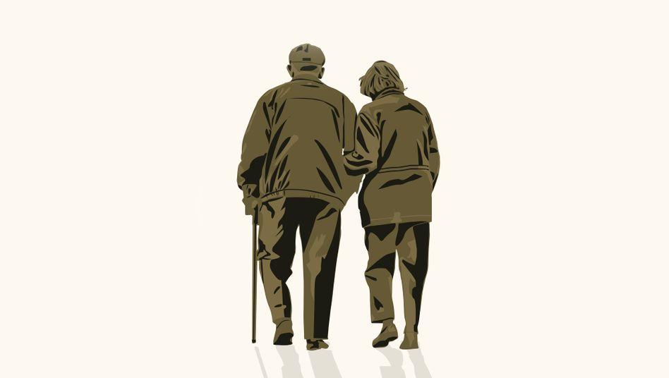 Ältere Menschen sind von Covid-19 besonders bedroht, lasst sie uns schützen