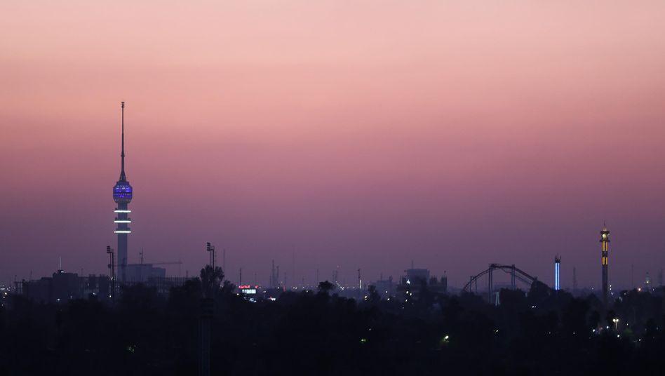 Bagdad Irak: Zwei Raketen schlagen in Grüner Zone in Bagdad ein