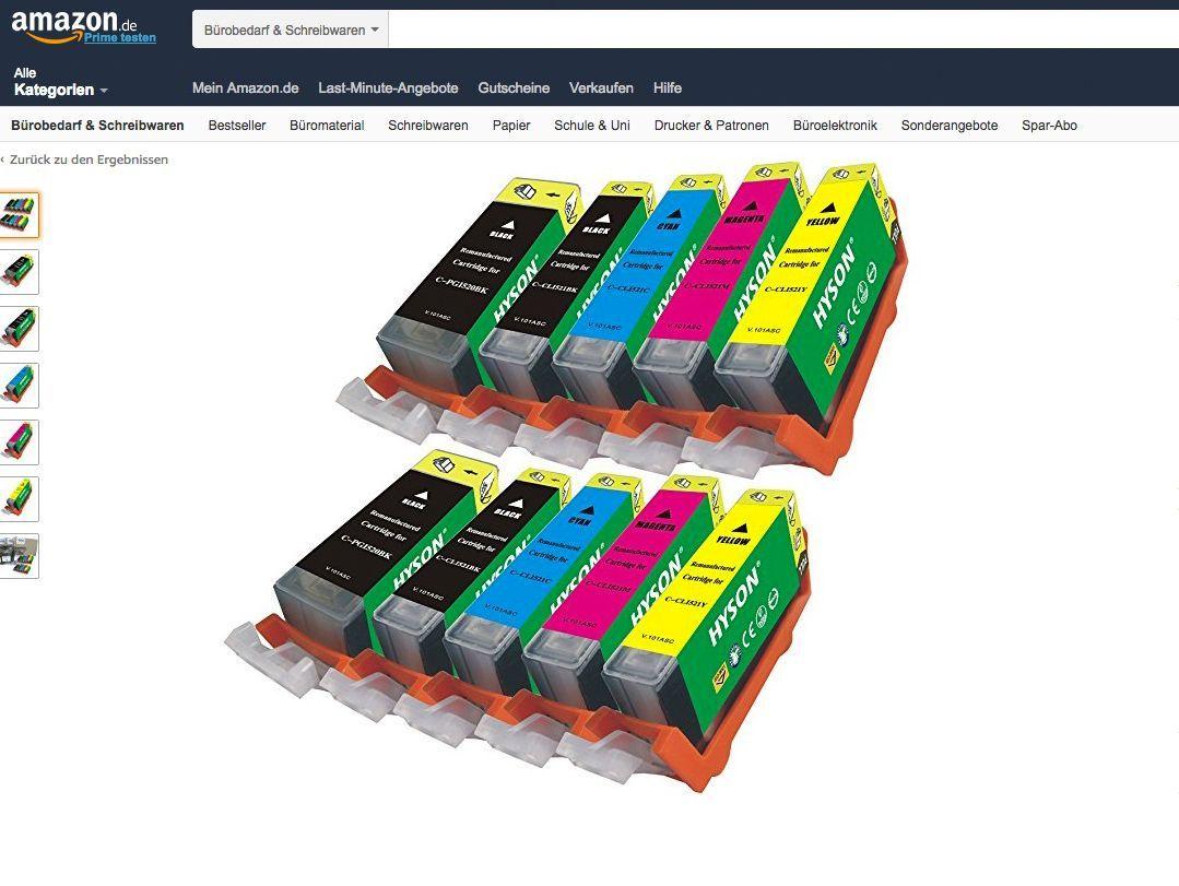 Druckerpatronen Kopien: Die Tintenkiller auf Amazon DER