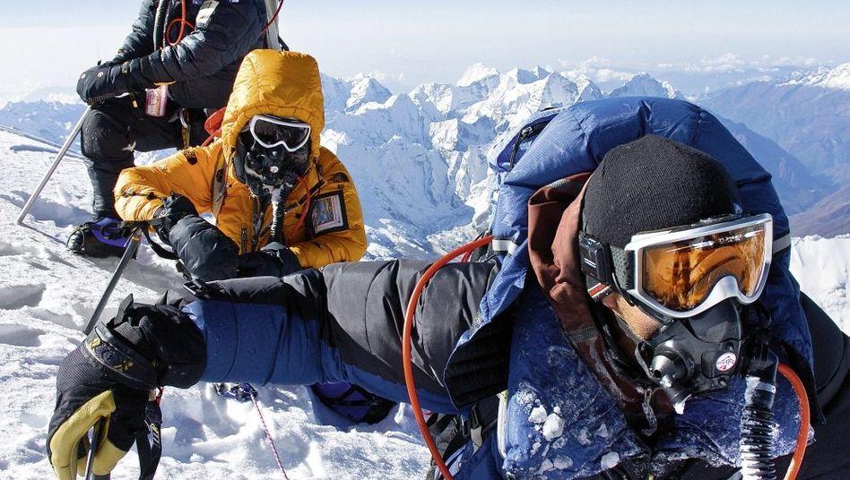 Kletterer auf dem Mount Everest: »Vorgegaukelte Sicherheit«