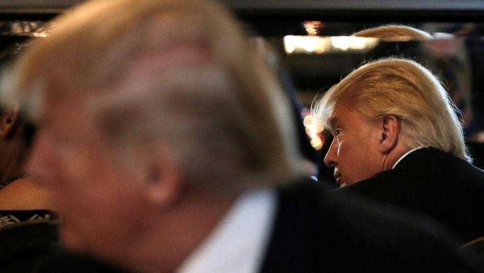 Donald Trump und sein gefährlichster Gegner: Donald Trump (Archivbild)