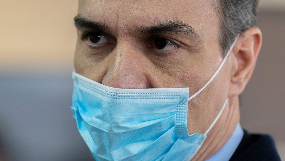 Unter Druck: Spaniens Regierungschef Pedro Sánchez
