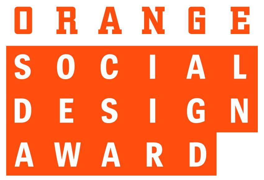 Orange Social Design Award Logo Kulturspiegel