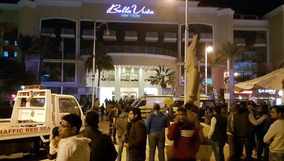 Ägypten: Bewaffnete greifen Hotel in Hurghada an - Verletzte