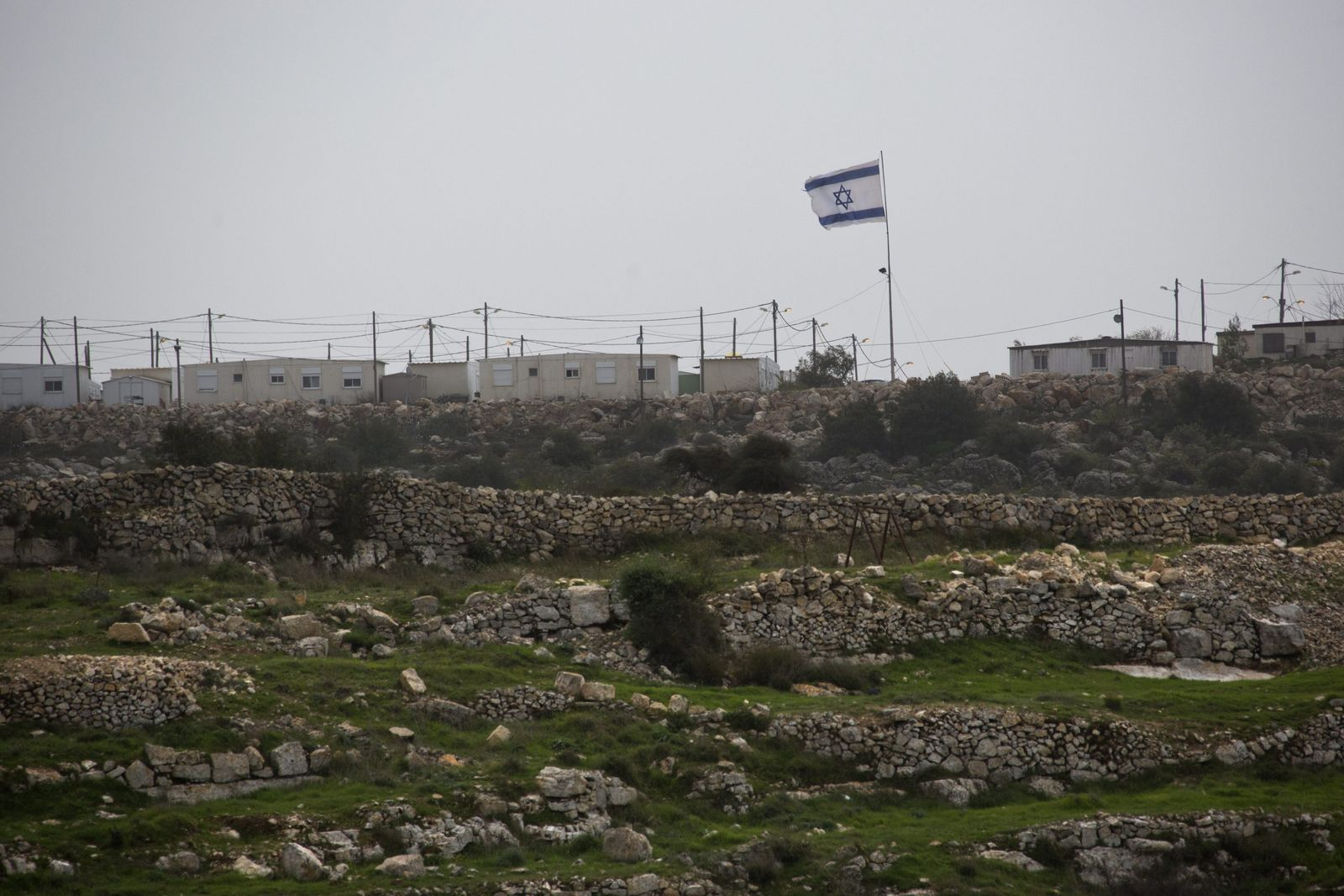 Siedlung Israel Westjordanland