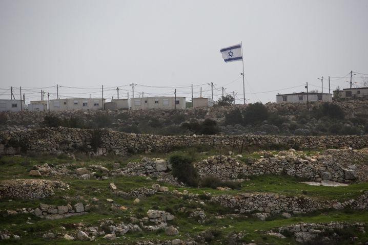 Politikum Westjordanland: Israelische Siedlung südlich von Jerusalem