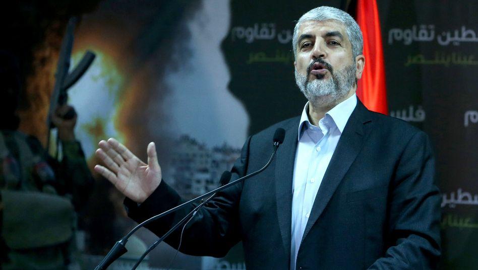 Hamas-Chef Maschaal: Nur ein Ende der Blockade ermöglicht eine Feuerpause