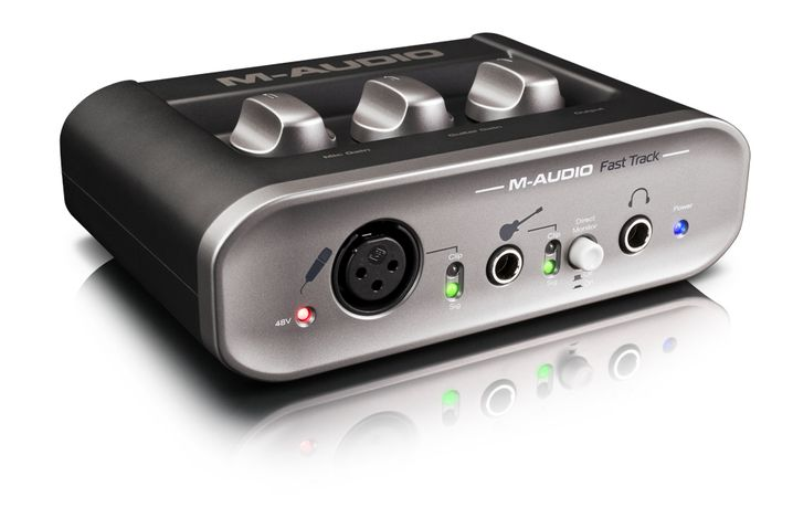 Audiointerface M-Audio Fasttrack: Guter Sound für 80 Euro