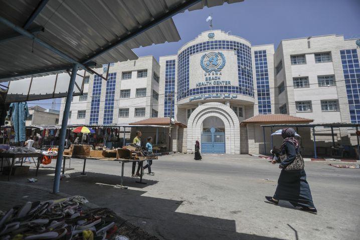 UNRWA-Gebäude im Gazastreifen