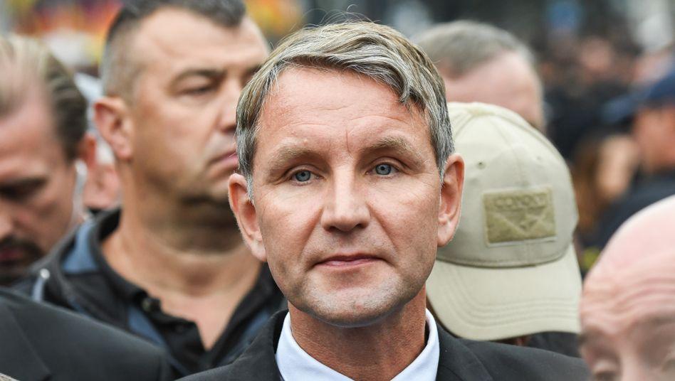 Björn Höcke in Chemnitz (Archivbild)