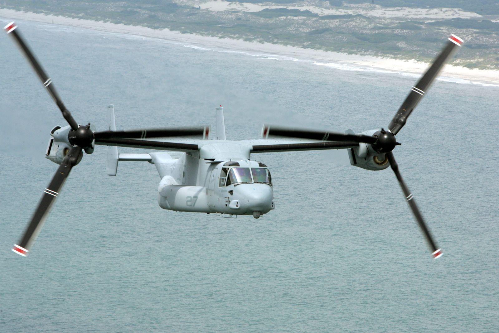 US/ V-22 Osprey Helikopter