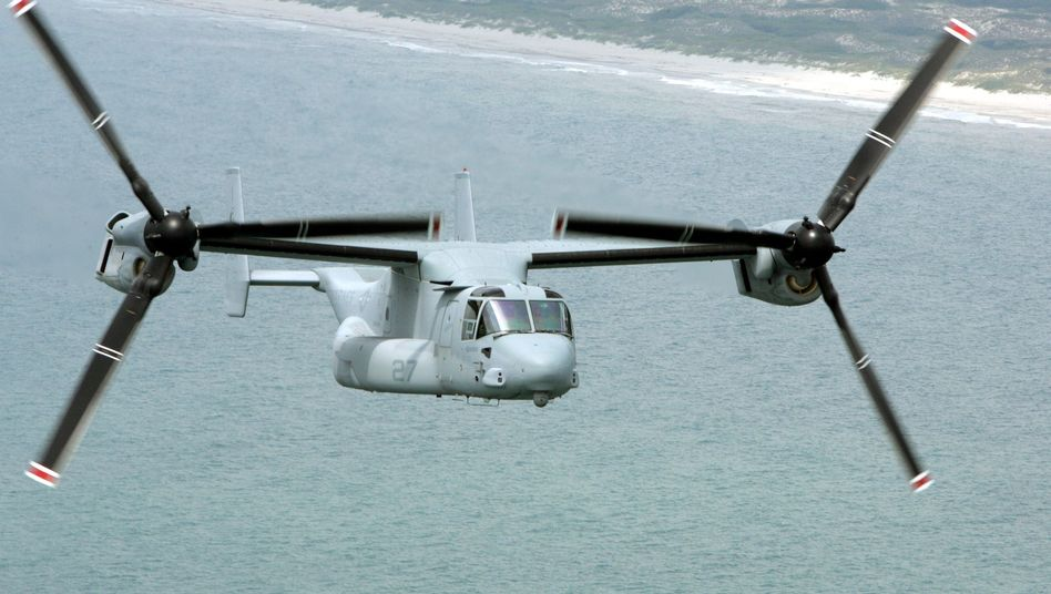 """V-22 Osprey: Sechs """"Fischadler"""" für Israel"""