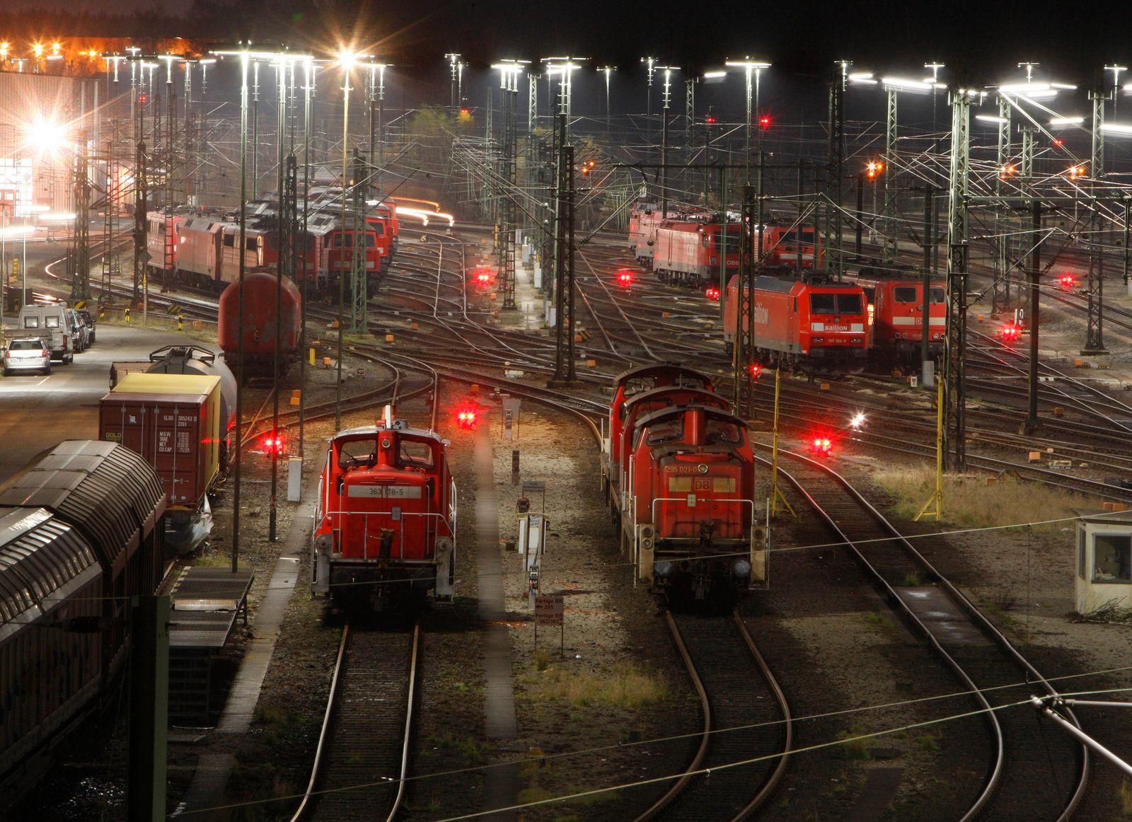 DEU Tarife Bahn Streik