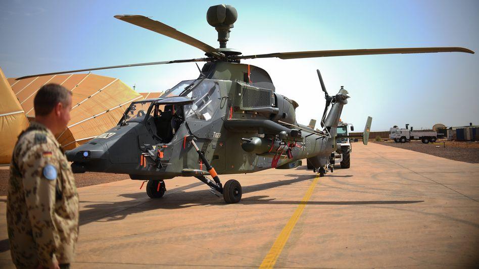 """""""Tiger""""-Hubschrauber der Bundeswehr (Archiv): Aus Sicherheitsgründen dürfen die Helikopter vorerst nicht starten"""