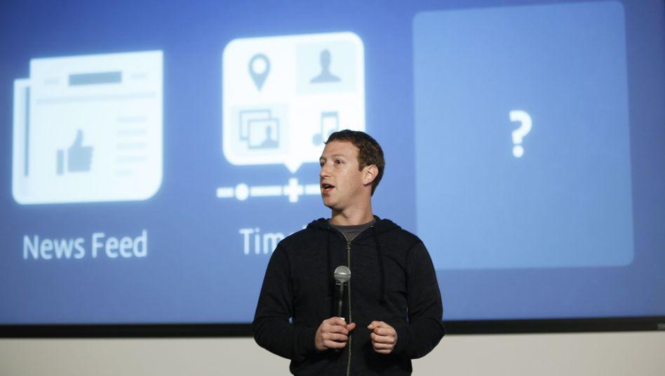Facebook-Chef Mark Zuckerberg: Datenschutz in Irland, nicht in Deutschland