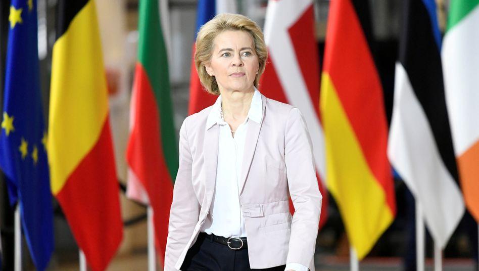 EU-Kommissionschefin von der Leyen: volles Risiko beim Haushaltspoker