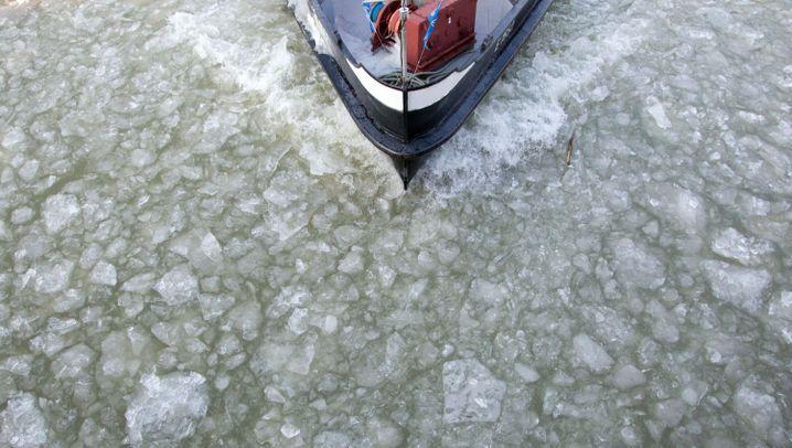 Frostige Temperaturen: Eis als Kunst