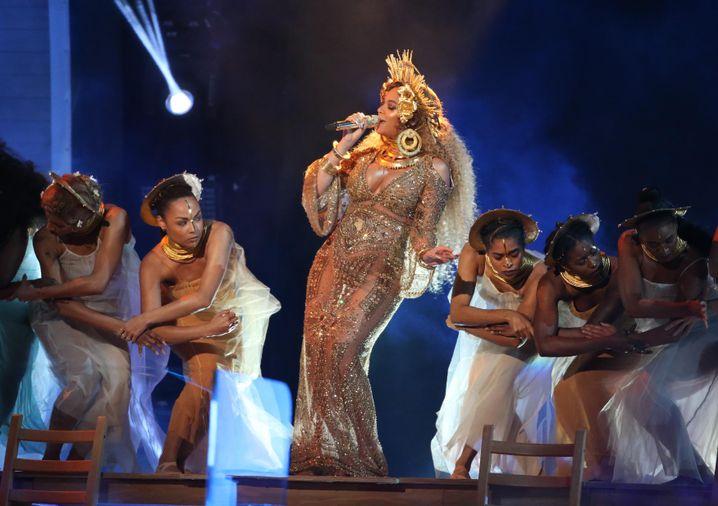 Beyoncé-Auftritt bei der Grammy-Show
