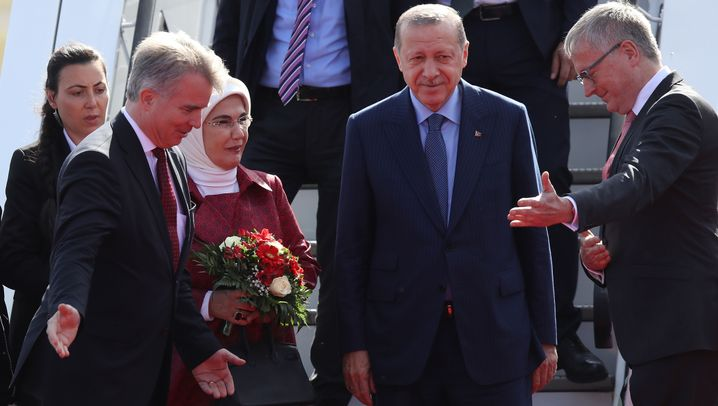 Erdogans Deutschlandbesuch: Ausnahmezustand in Berlin