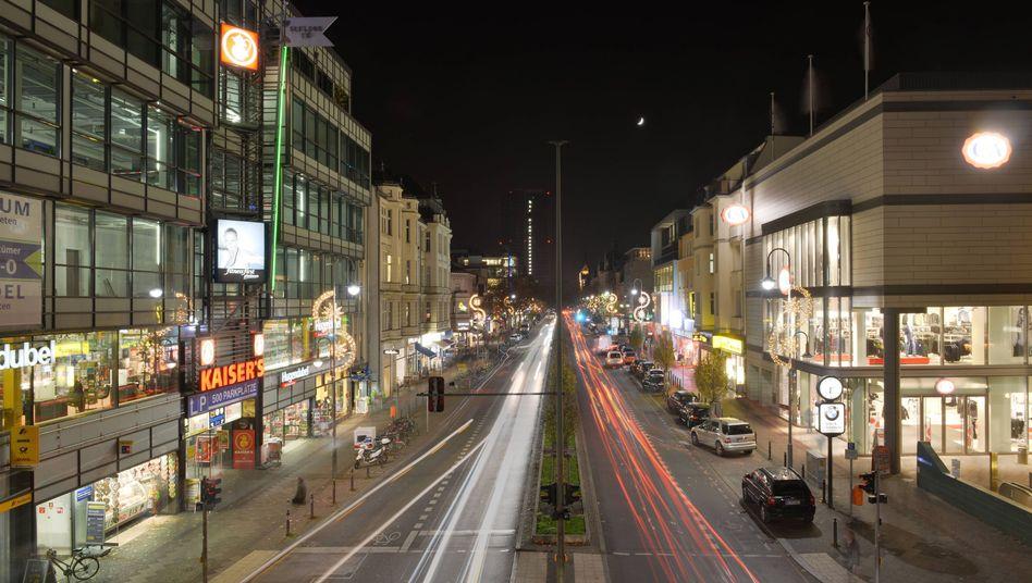 Schlossstrasse, Berlin: Wo isser hin, der Knall?