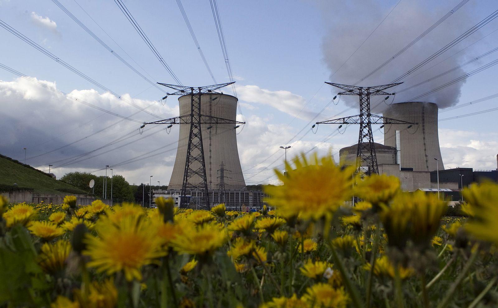 NICHT VERWENDEN Atomkraftwerk / Cattenom