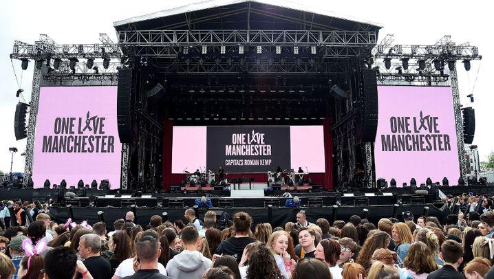 Benefizkonzert von Ariana Grande: Manchester trotzt dem Terrorismus