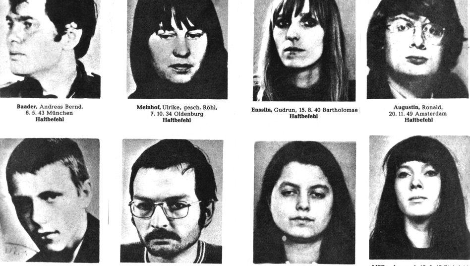 RAF-Fahndungsplakat 1970: Schüsse im Untergrund