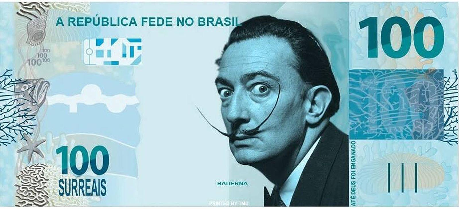 """Surreal""-Banknote"