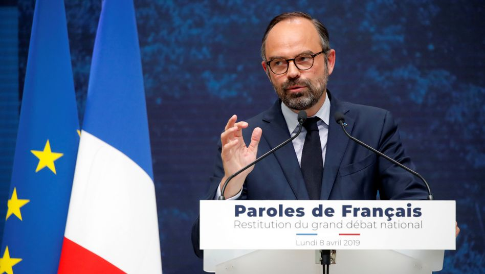 Frankreichs Premierminister Edouard Philippe