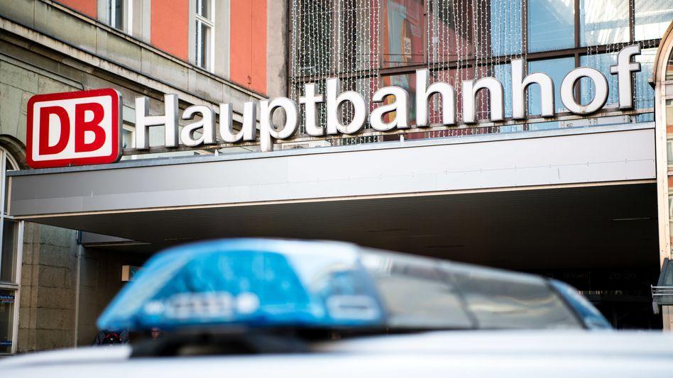 Polizeieinsatz am Hauptbahnhof (Symbolbild)
