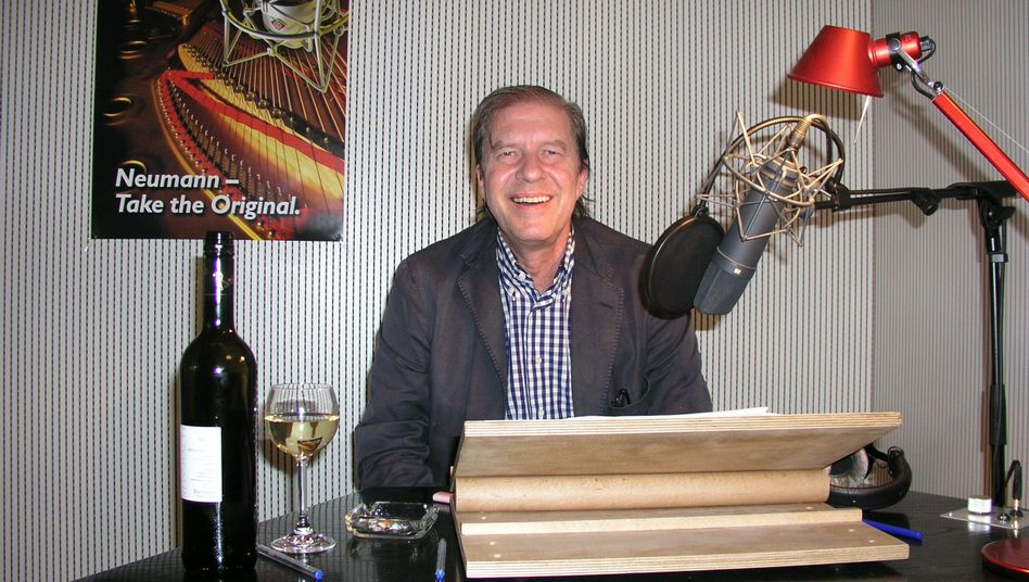 Arne Elsholtz im Tonstudio