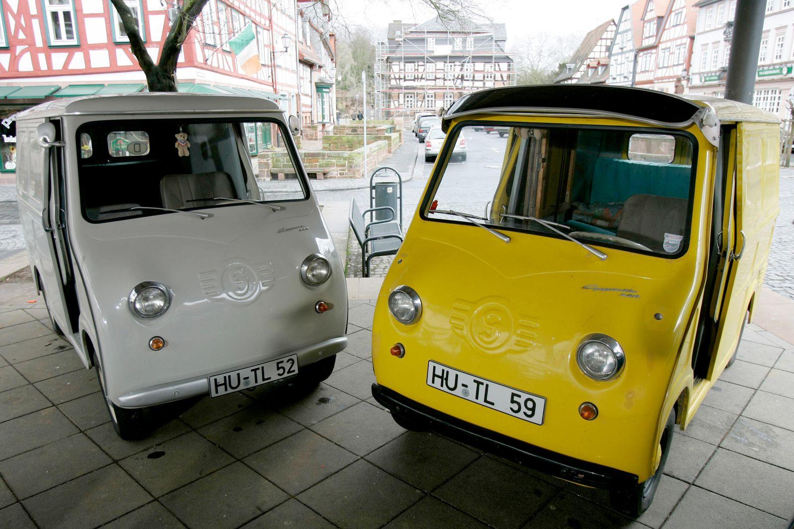 Goggomobil, 50ziger Jahre Museum, Hessen, Deutschland.