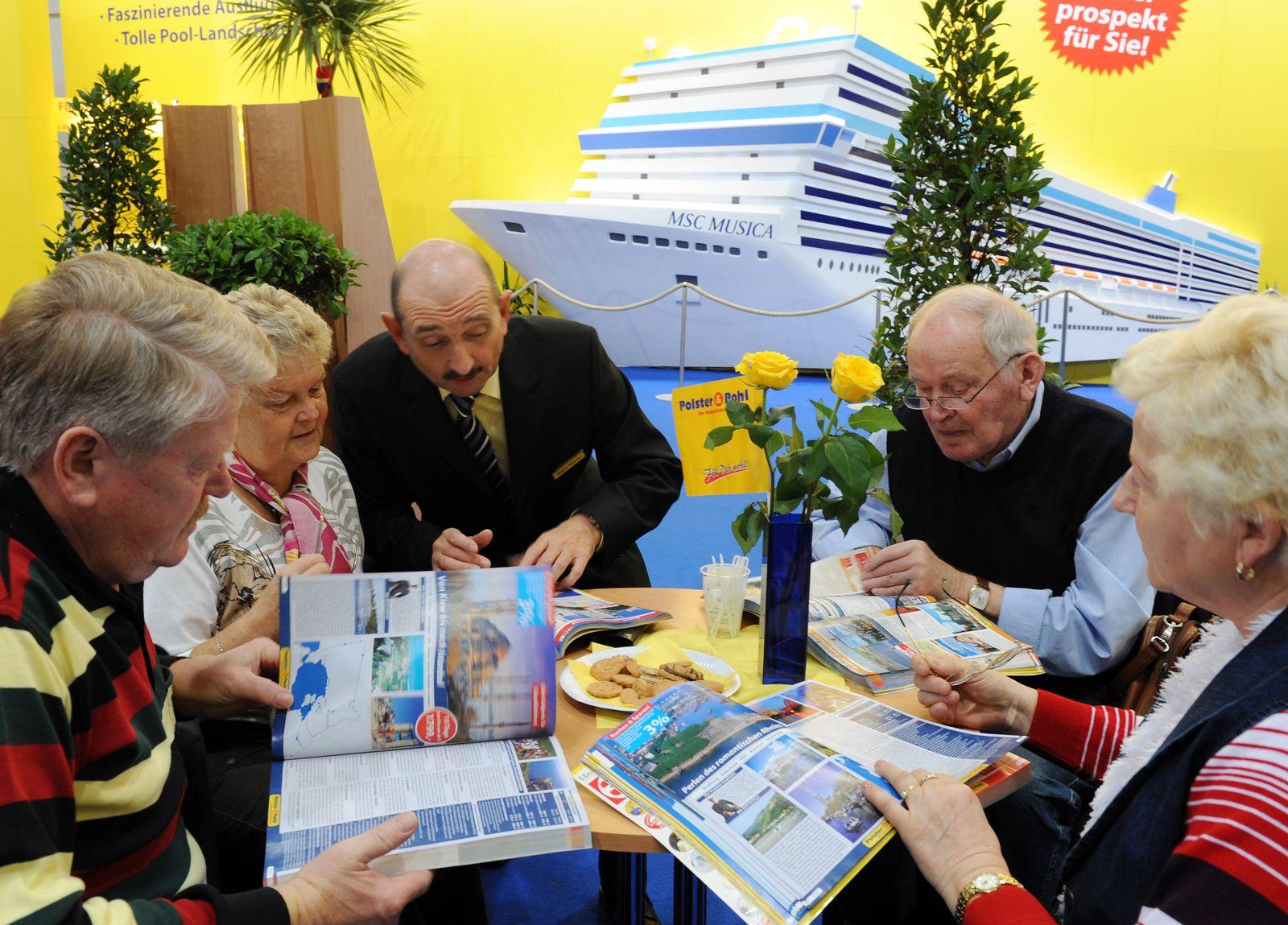 Urlauber / Senioren / Reisen