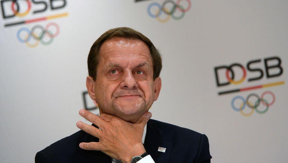 """DOSB-Präsident Hörmann: """"Was gut ist, wird mit einem Häkchen versehen"""""""