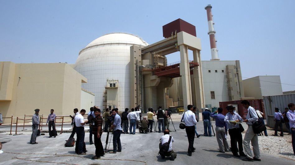 Atomkraftwerk in Buscher (Archivbild von 2010): IAEA kritisiert Teheran