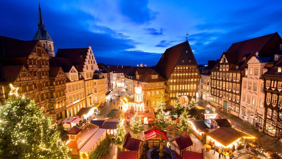 Weihnachtsmarkt in Hildesheim: Es gibt auch gute Nachrichten, selbst 2015