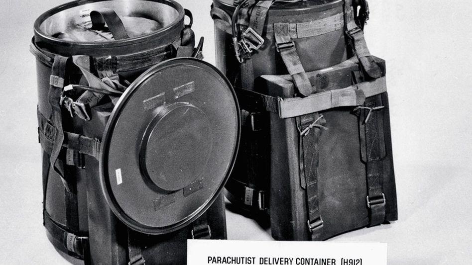 W-54-Container: Probe in den Alpen