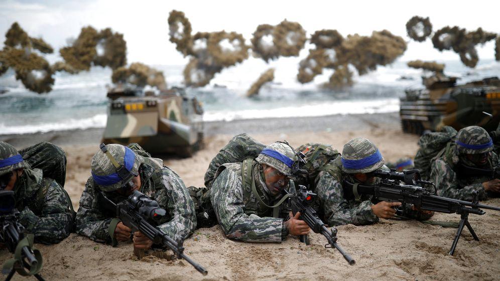 Großmanöver in Asien: Training gegen Nordkorea